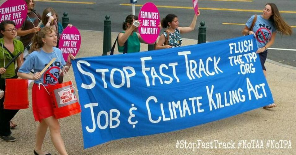 Get Ready For Round Two: GOP And White House Work To Revive Fast Track |