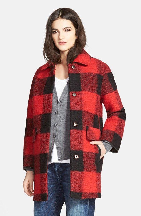 Women's Pendleton Buffalo Plaid Barn Coat   Coats, Shops and Plaid