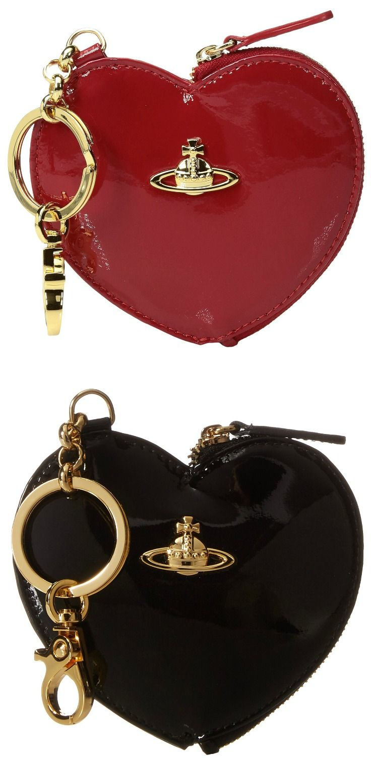 Forget love spells.  Just turn on the charm with the magic of the #VivienneWestwood #Charms #key #ring and #heart #pouch. #keychain #bag #keychains #bags #accessory #accessories