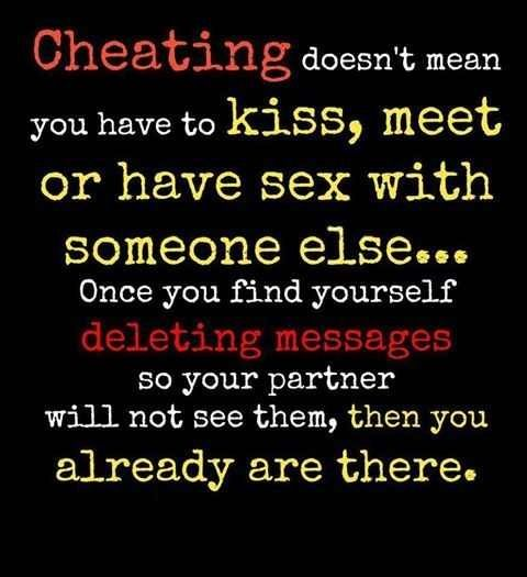 flirting vs cheating infidelity quotes funny