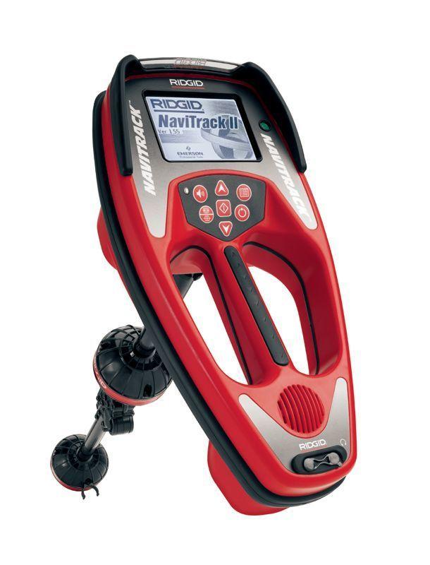 Ridgid 96967 Navitrack Ii Locator With Case Red Power Tools Inspection Location Line Detection Water Heater Repair Plumbing Repair
