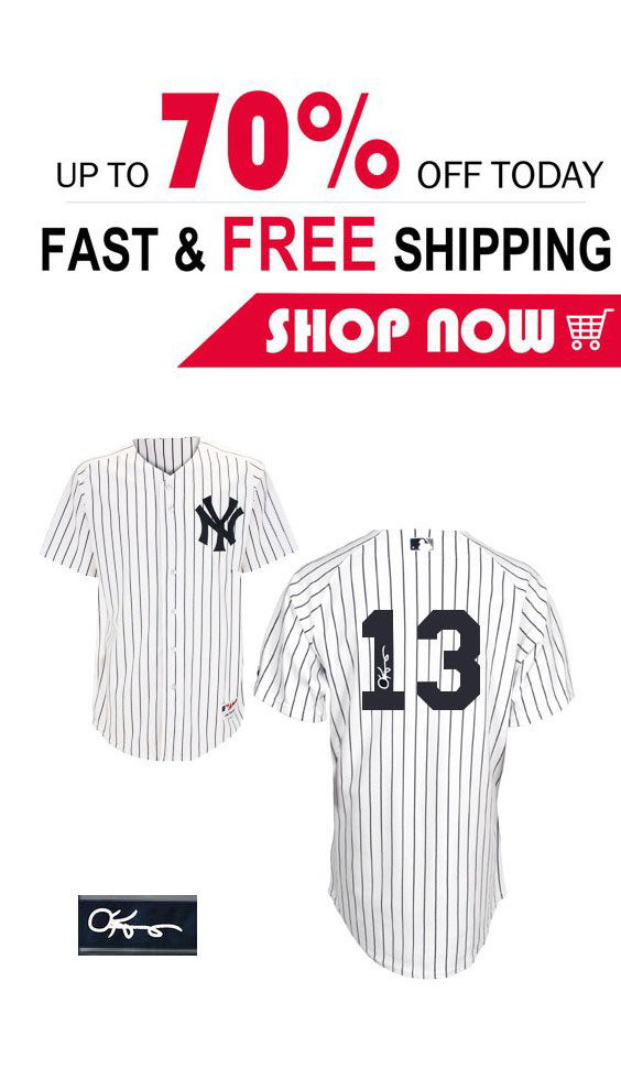 meet 6669f 7be7a Men's Majestic New York Yankees #13 Alex Rodriguez Authentic ...