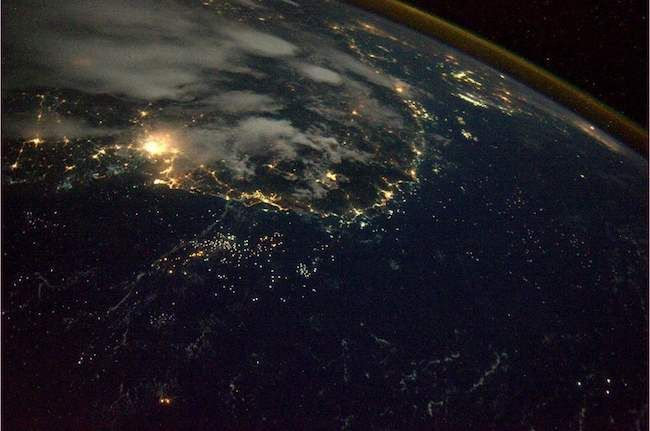 Vietnam At Night Stunning Pictures Of Earth Taken From Space - 30 amazing photos ever taken nasa