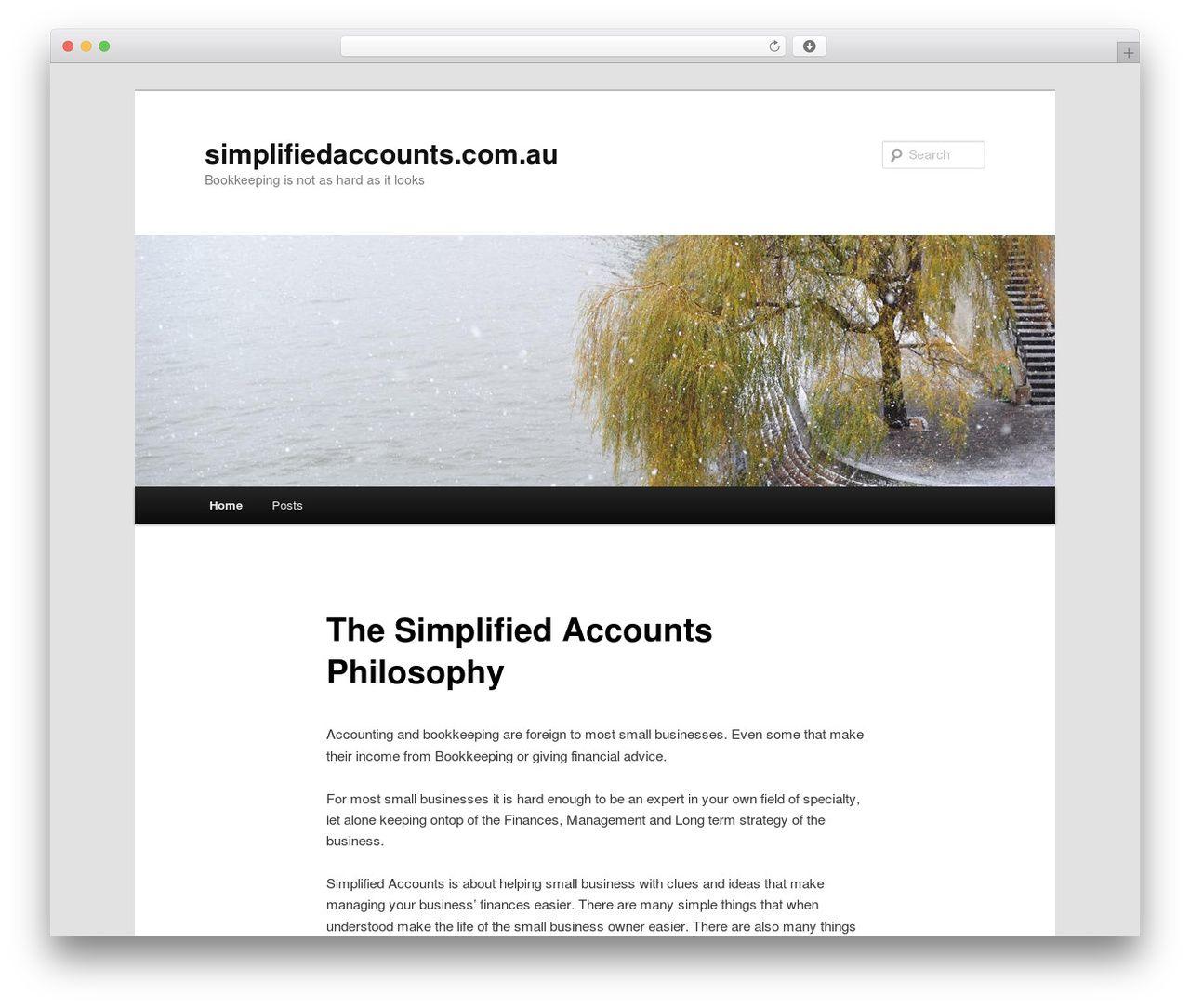 Twenty Eleven WordPress template free download