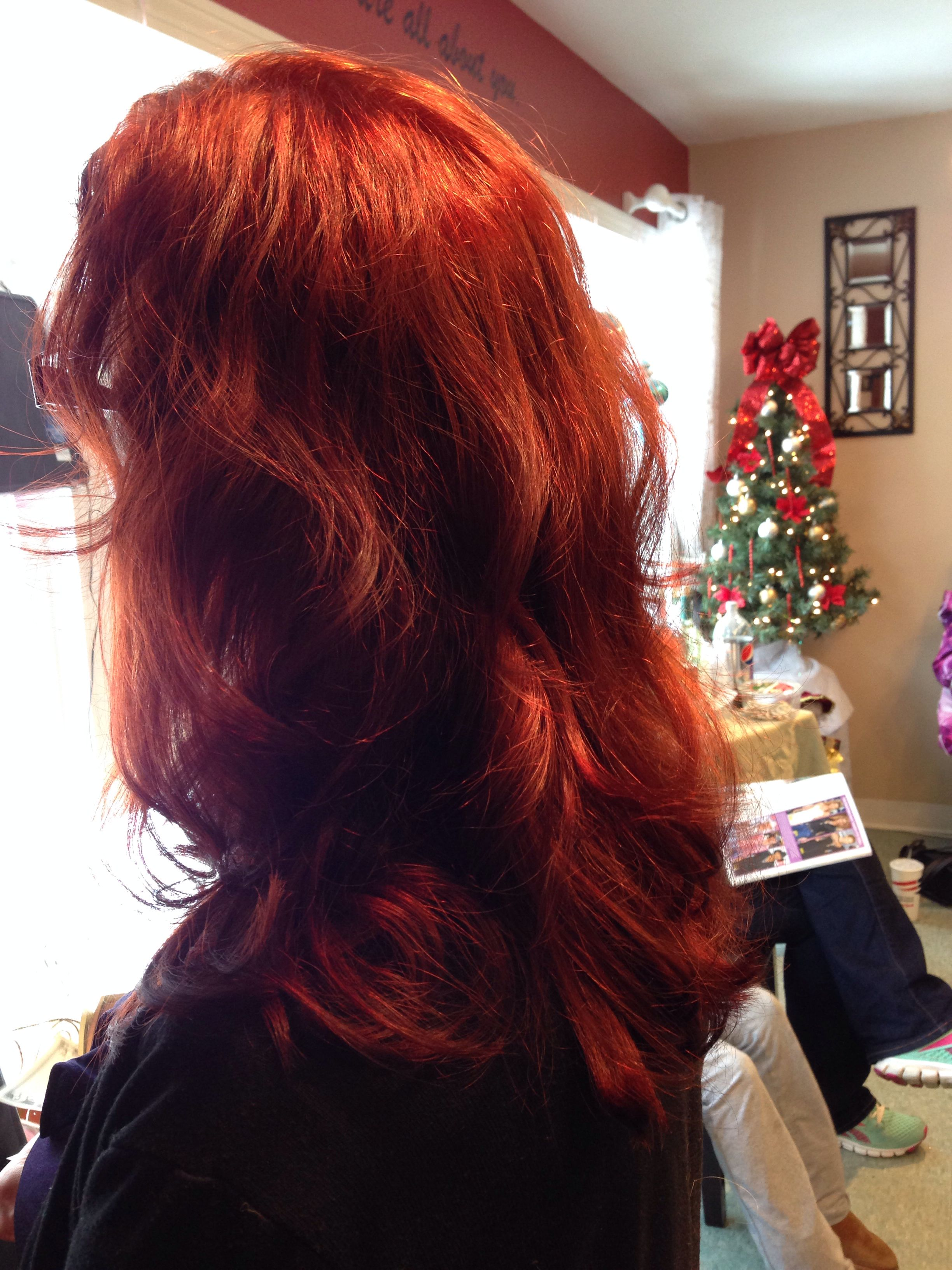 Red Copper hair fall/winter