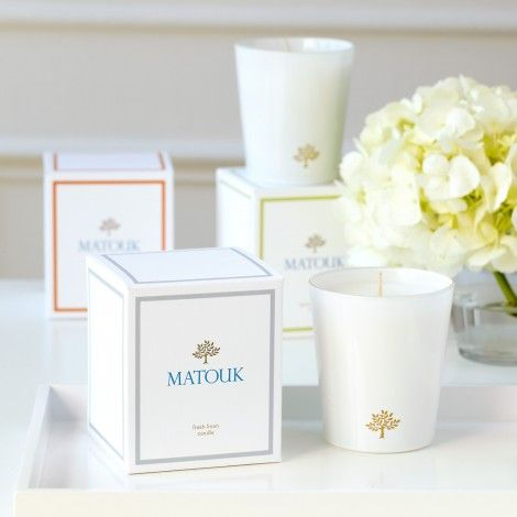 Matouk —Fresh Linen Candles - Home Fragrance - Gifts & Accessories