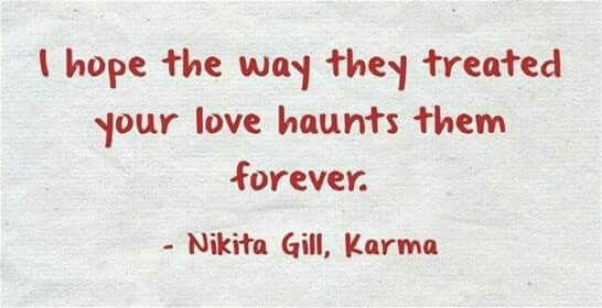 Nikita gill || Karma