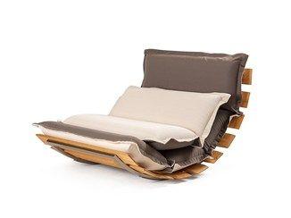 Sedie Da Regista In Legno Ikea.Fauteuil De Jardin A Bascule En Tissu Ops Outdoor Sillones Para