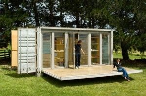 Shipping Container Homes: Unique, Unusual, but Efficient and Economic! www.pbstudiopro.com