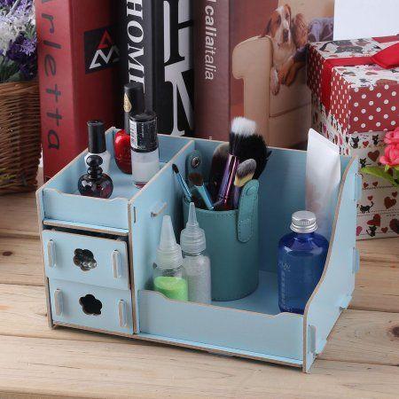 Multi Functional Wooden Desktop Box Drawer Type Multi Drawers