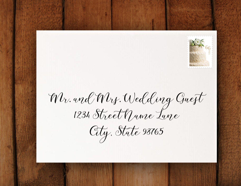 wedding invitation formatting