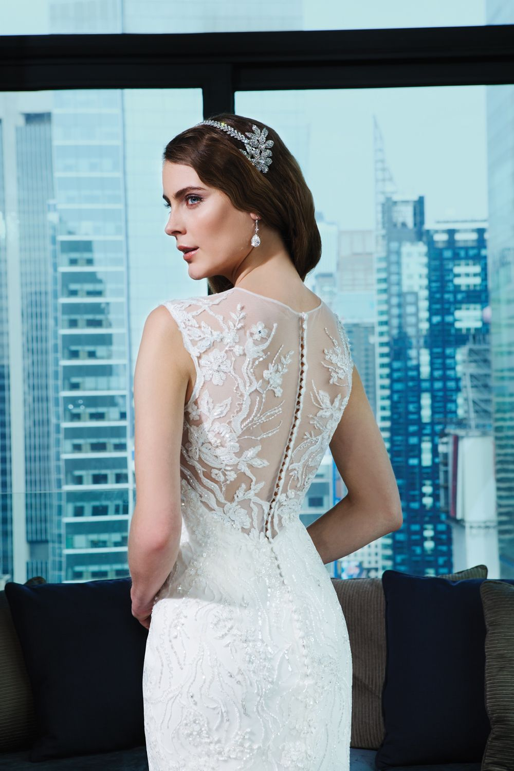 Justin alexander signature wedding dresses style embroidered
