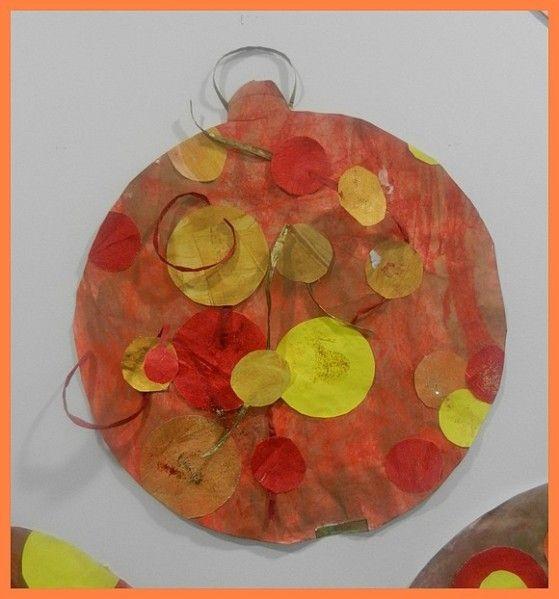 Boule De Noel à Peindre Boules de Noël   les patouilles de Bout2fee | Boule de noel, Noel