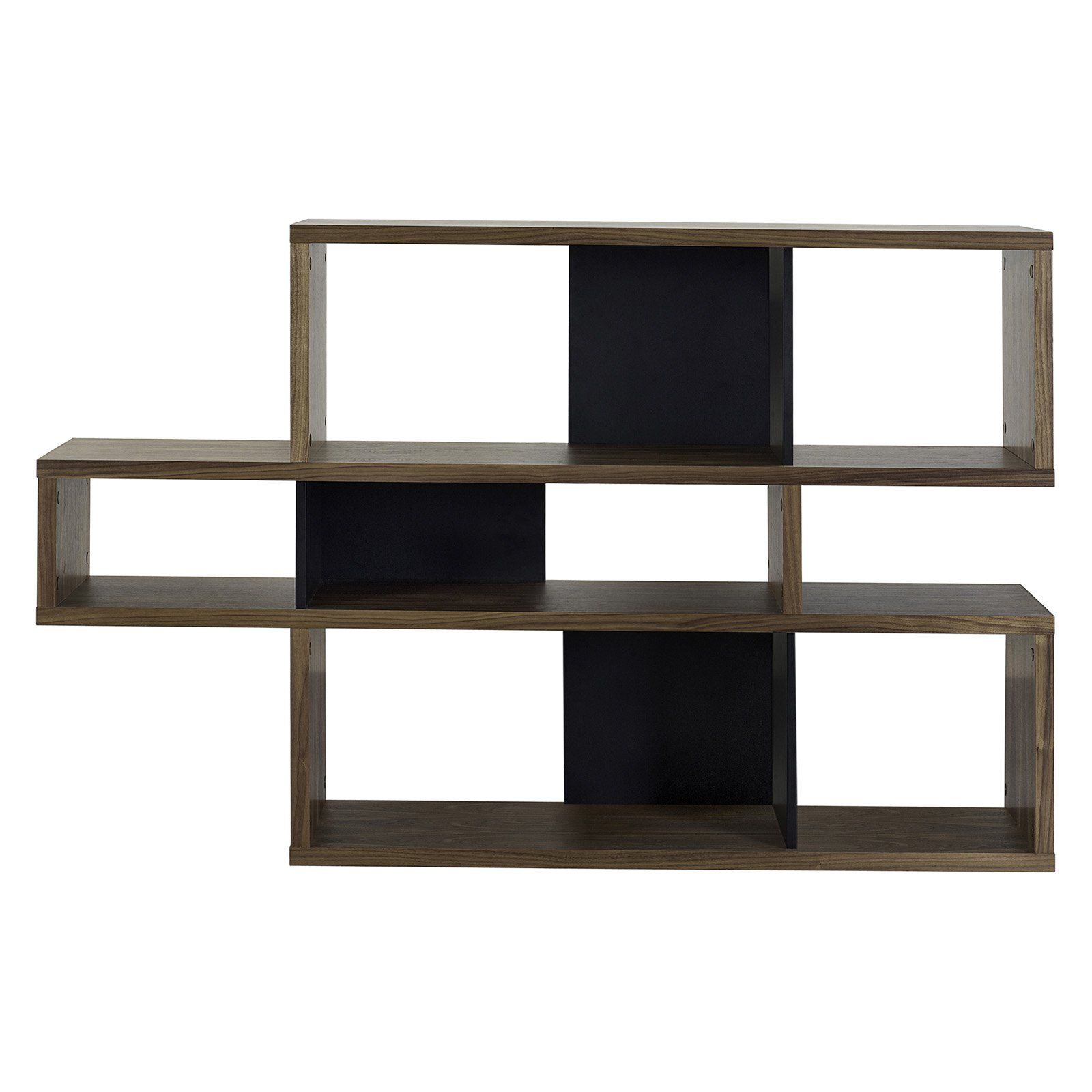 Tema Furniture London Composition Open Back Bookcase In 2019 Wooden Bookcase Contemporary Bookcase Shelves