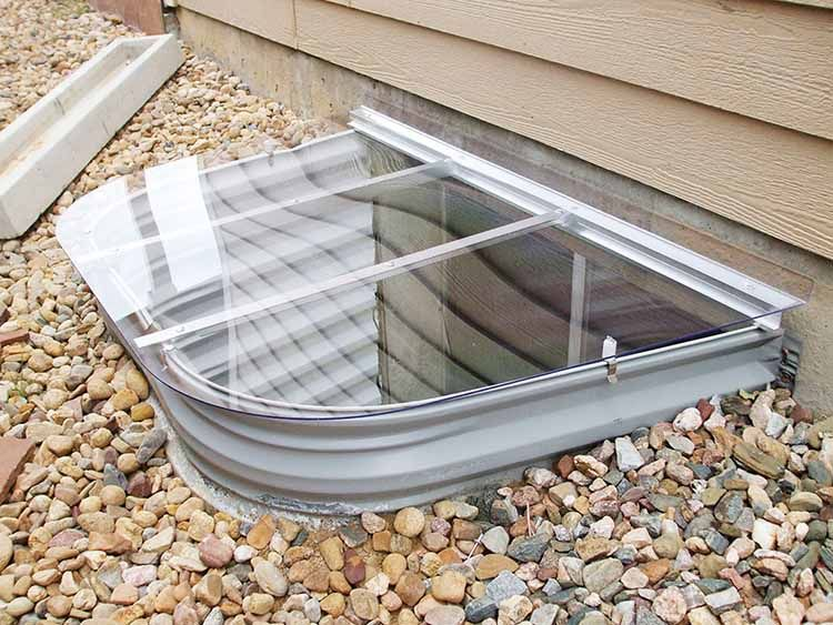 Basement Window Wells | Mesh, Metal, And Polycarbonate Cover