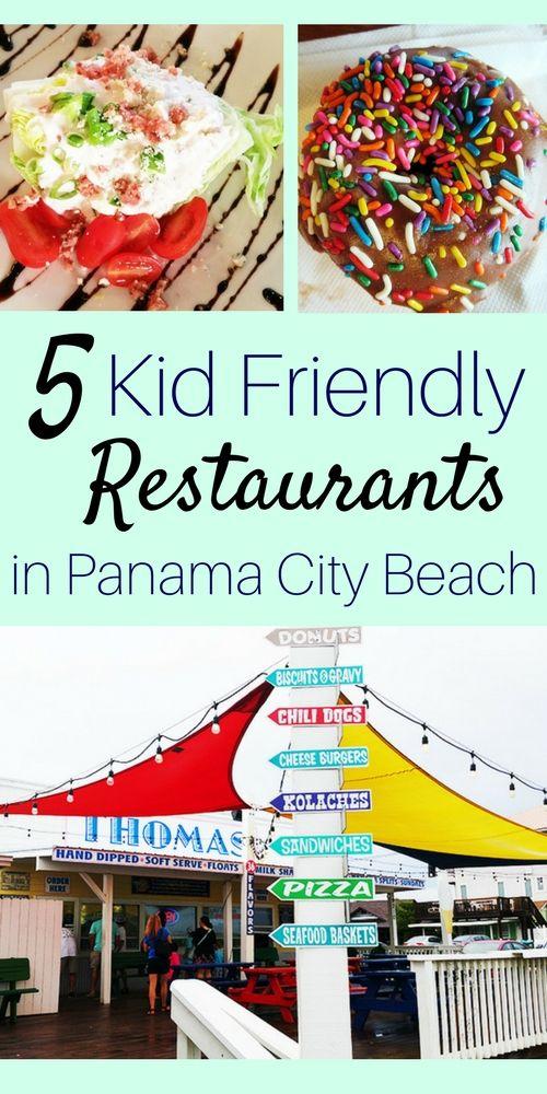 5 Kid Friendly Restaurants In Panama City Beach Florida