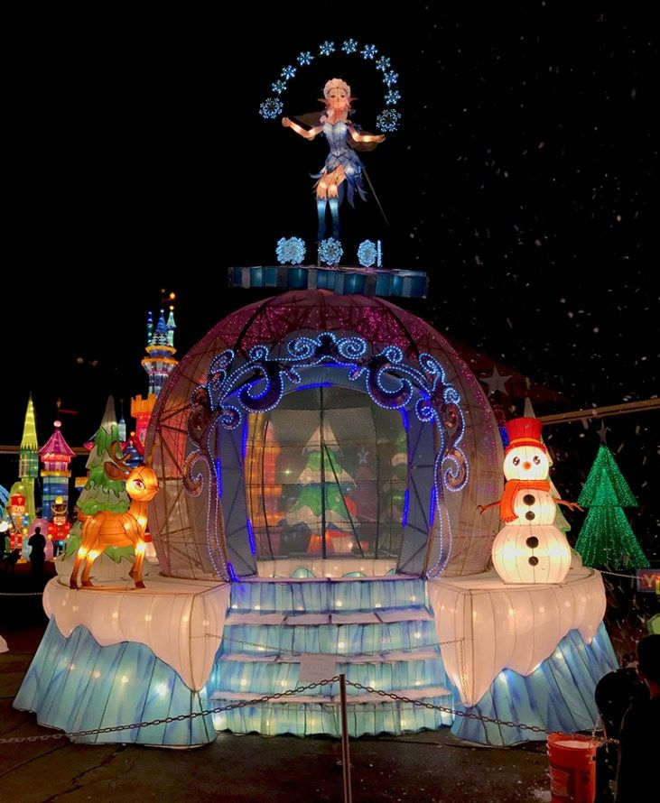 Cal Expo Christmas Lights.Global Winter Wonderland Lantern Festival At Calexpo
