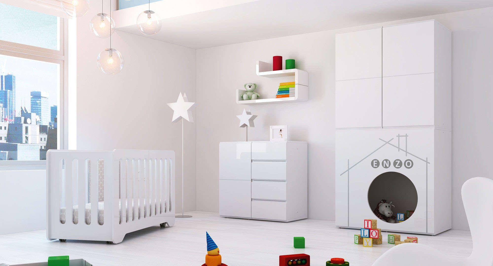 Room MODULAR HOUSE Alondra. Habitación de diseño y moderna de juegos ...