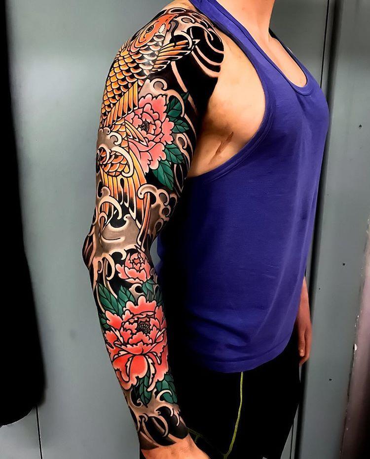 Sleeve Tattoo Japanese Sleeve Tattoos Japanese Tattoo Traditional Japanese Tattoo Sleeve