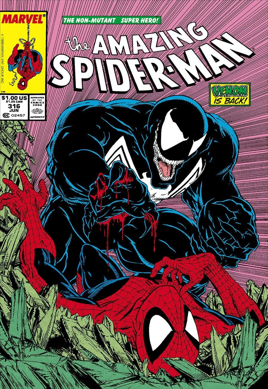 the amazing spider-man #316 - venom is back! - rare - reserved