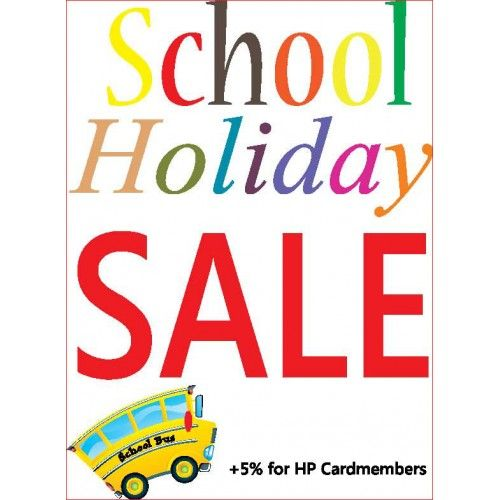 Image result for school holiday sale