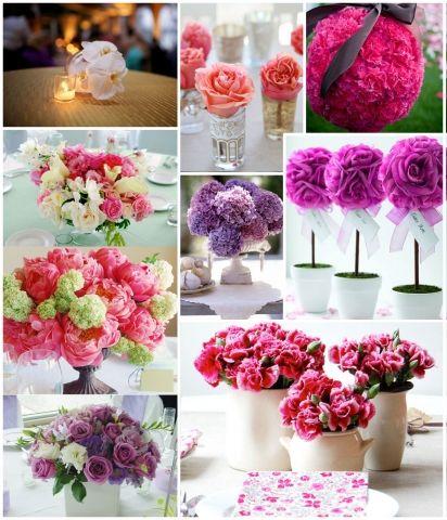 Centros de Mesa Florales Bordados Pinterest Centros de mesa