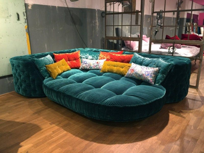 Das Wohnzimmer Versch Nern Mit Sofa Napali Von Bretz Living Rooms And Room