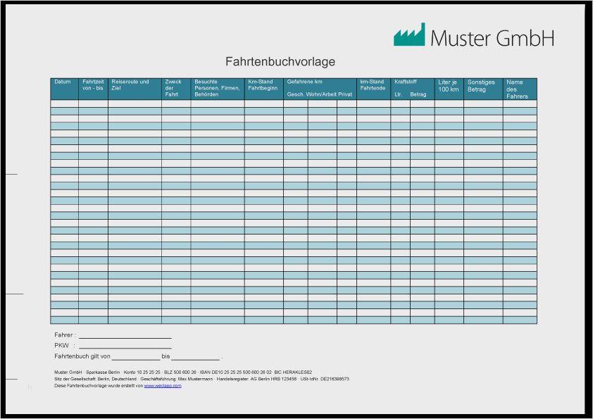 26 Wunderbar Vereinfachtes Fahrtenbuch Vorlage Jene Konnen Einstellen In Microsoft Word In 2020 Fahrtenbuch Microsoft Word Vorlagen