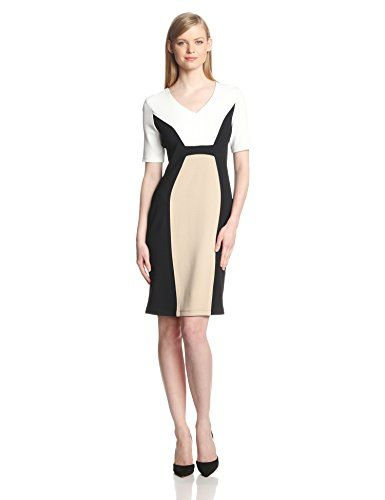 Color Block Dresses That Make You Look Thinner Over 40 Secrets