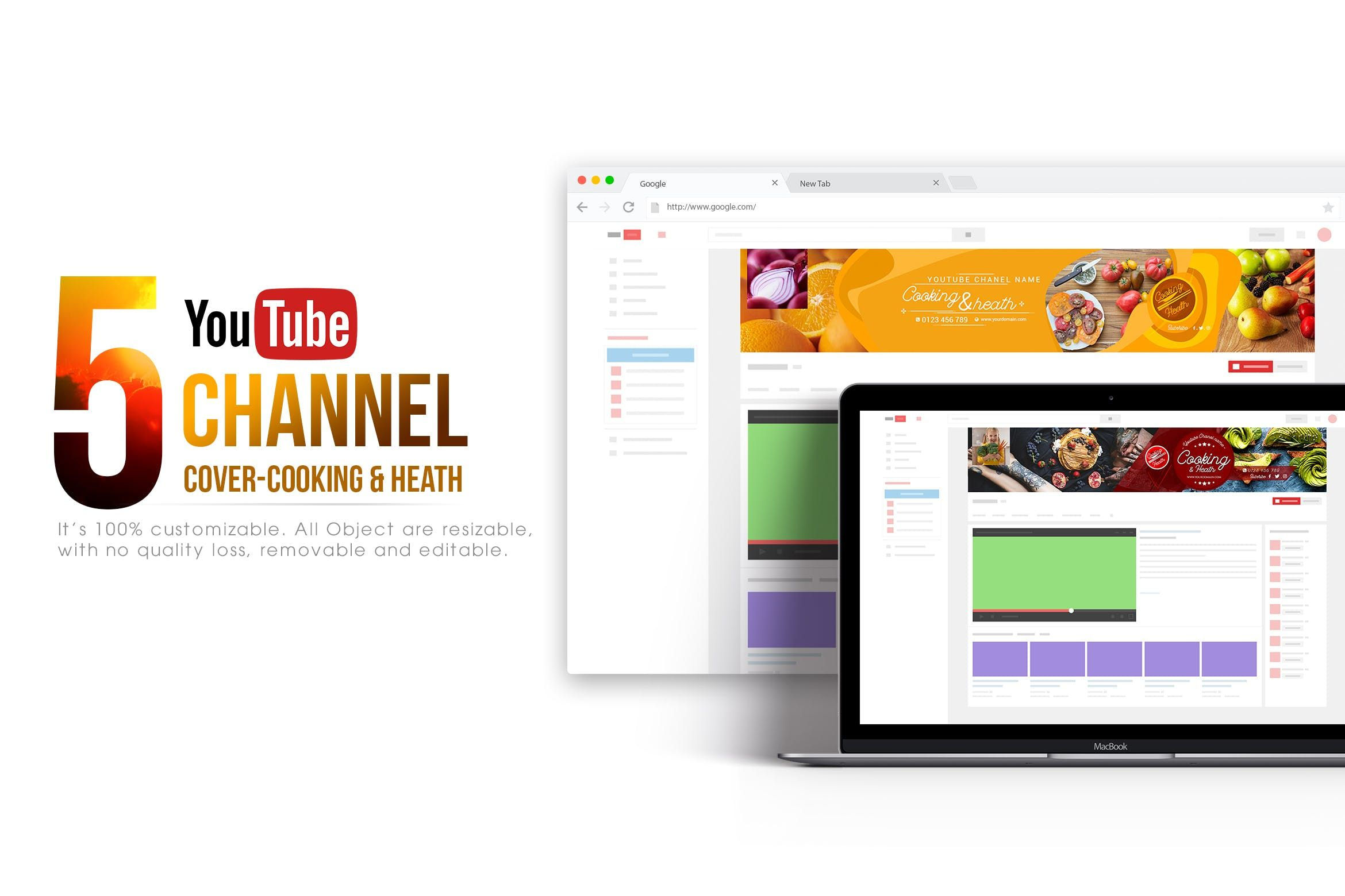 Banner Layout Youtube