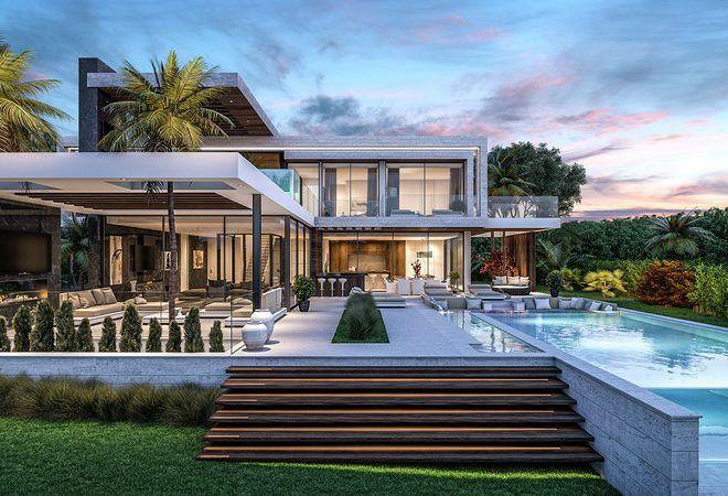 modern villa los flamingos 9 Luxury homes dream houses