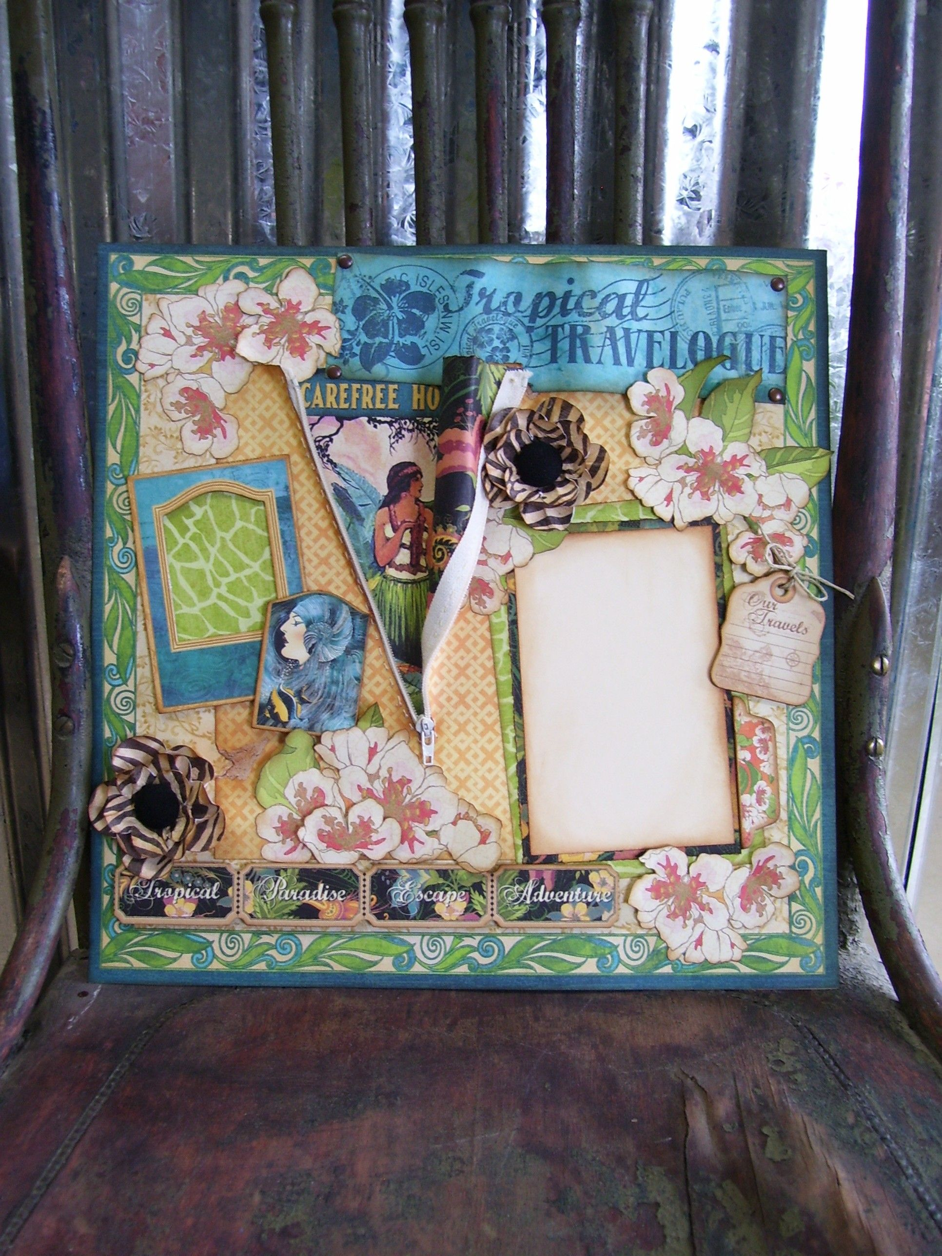 Spam Museum Scrapbook Page Kit