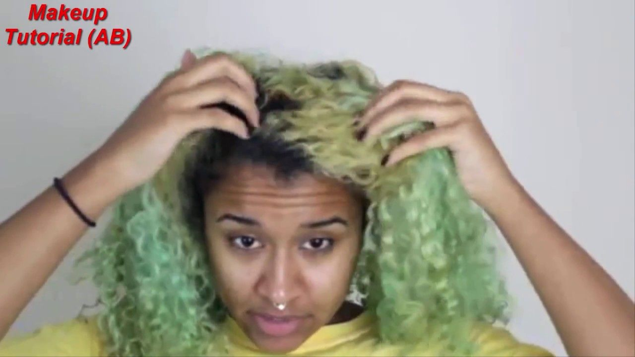 How to fade Green Hair Dye Get Rid of Semi Permanent Hair
