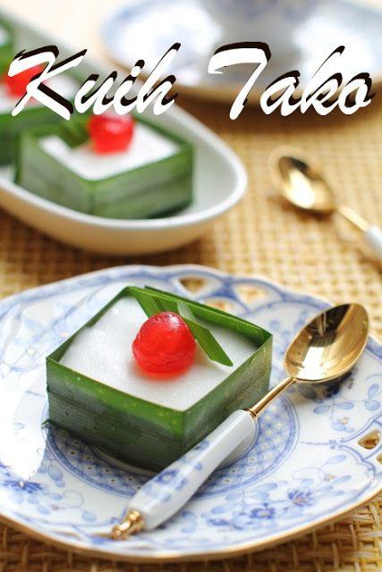 Masam Manis Kuih Tako Dan Cara Buat Kota Pandan Food Lover Asian Recipes Asian Desserts