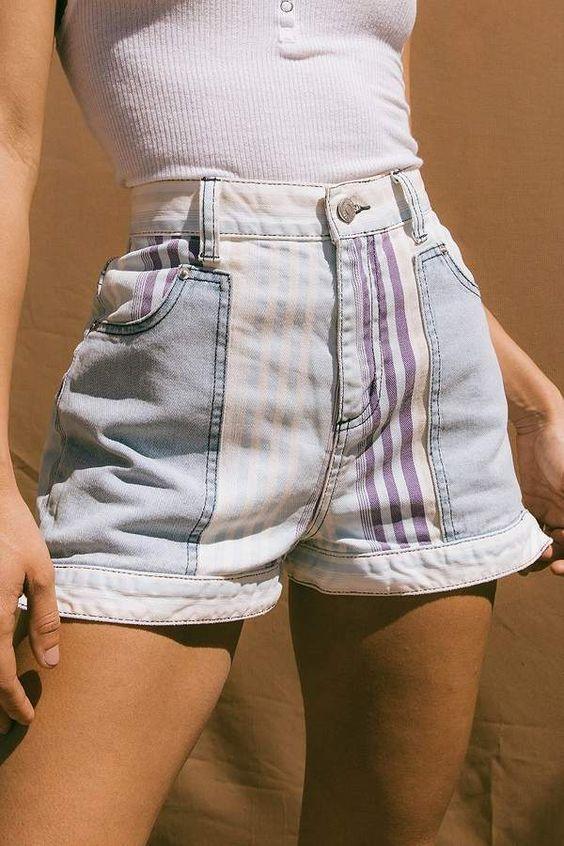 Elégant shorts pour femme. Elégant shorts pour femme Taille Haute ... e2d62a0538c