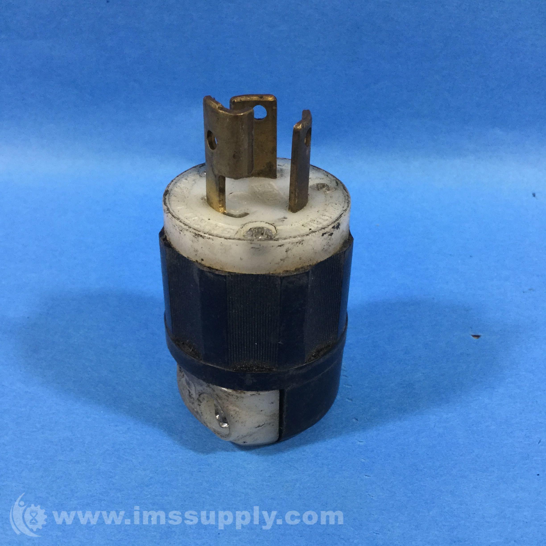 LEVITON 4770C CONNECTOR PLUG 15AMP 277VAC 2P 3W L7-15P | Great Deals ...