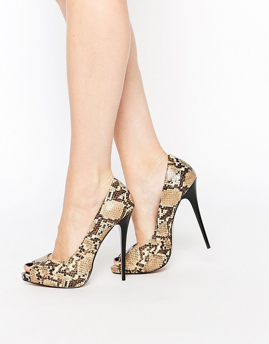 Tacones altos con estampado serpiente | Zapatos !!!!!!! | Pinterest ...