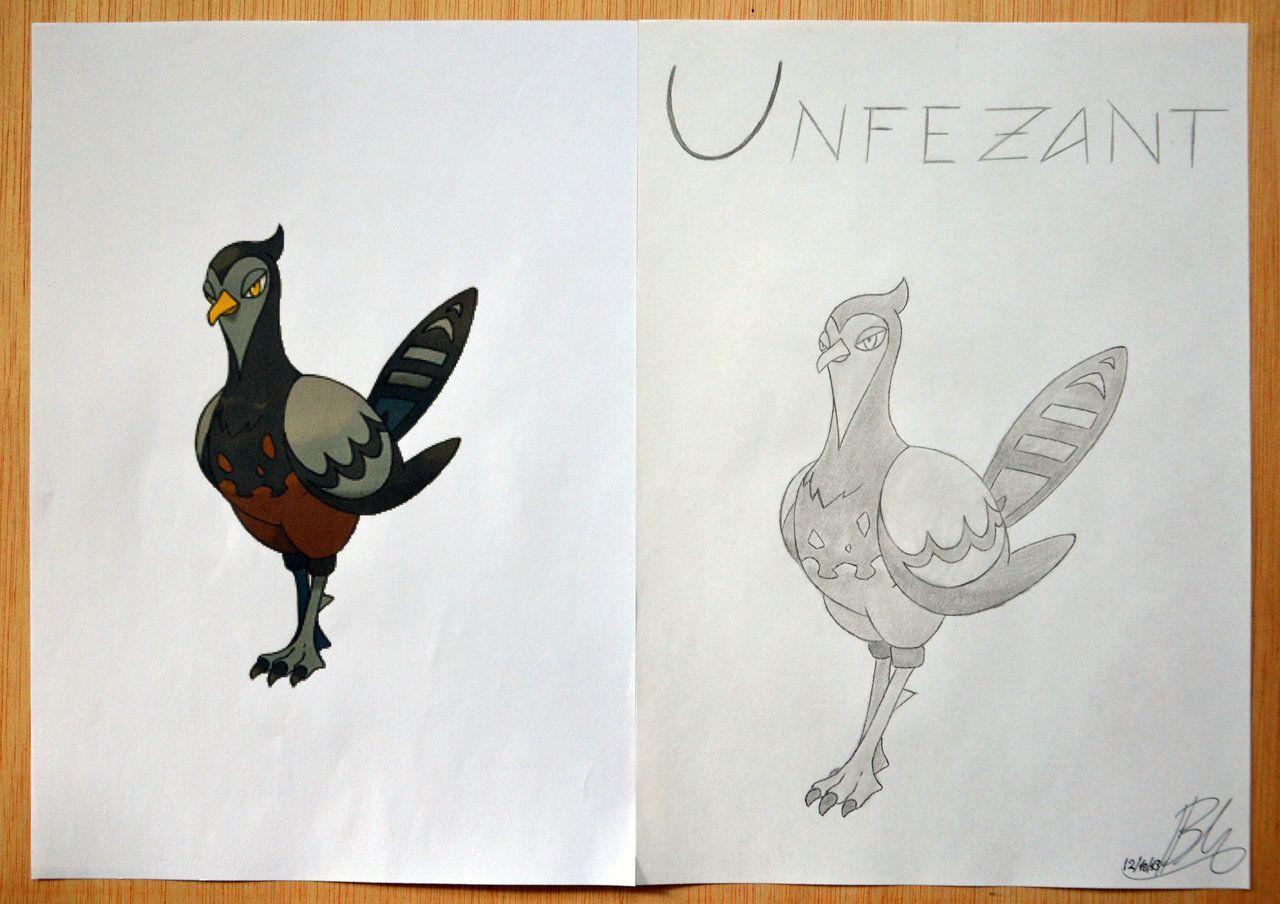 Unfezant (Female) by MrMufu94.deviantart.com on @deviantART
