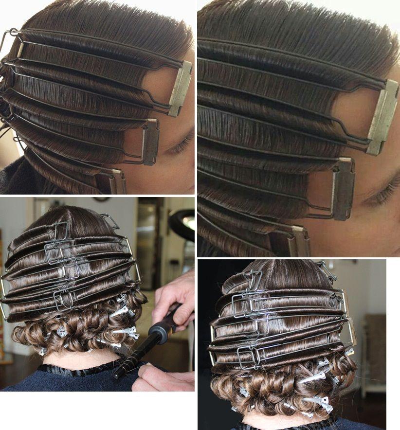 Finger Wave Hair, Retro Hairstyles