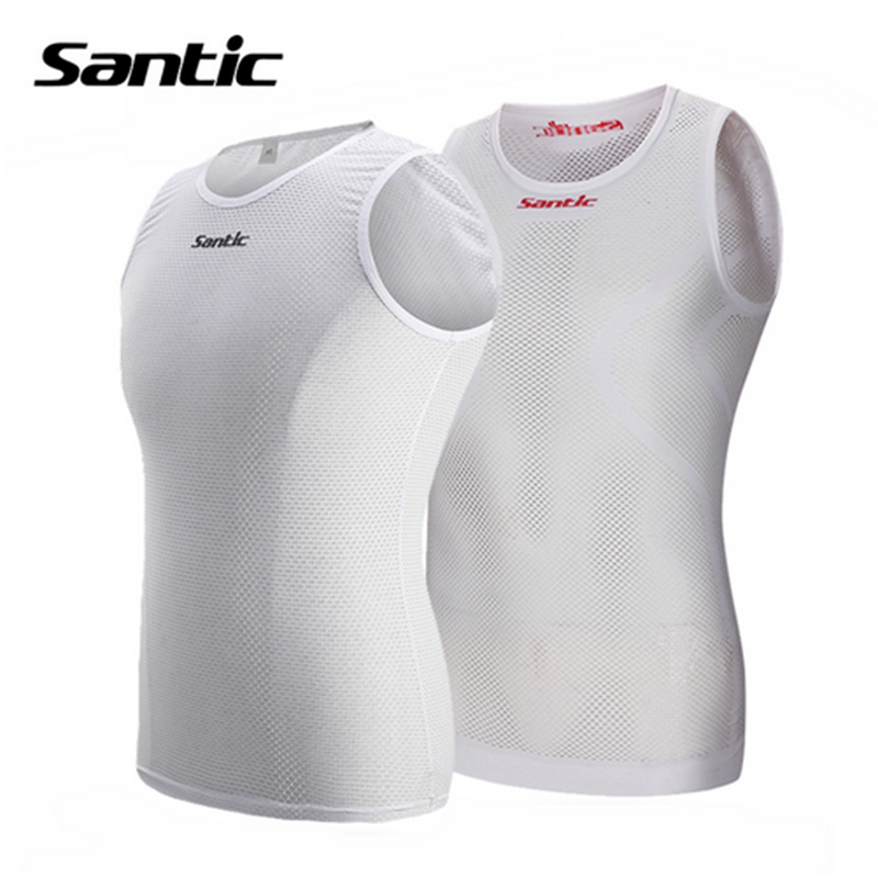 Santic Cycling Vest Quick Dry Mesh Ropa Ciclismo Mountain Road MTB Bike  Bicycle Jersey Outdoor Chaleco f214be509