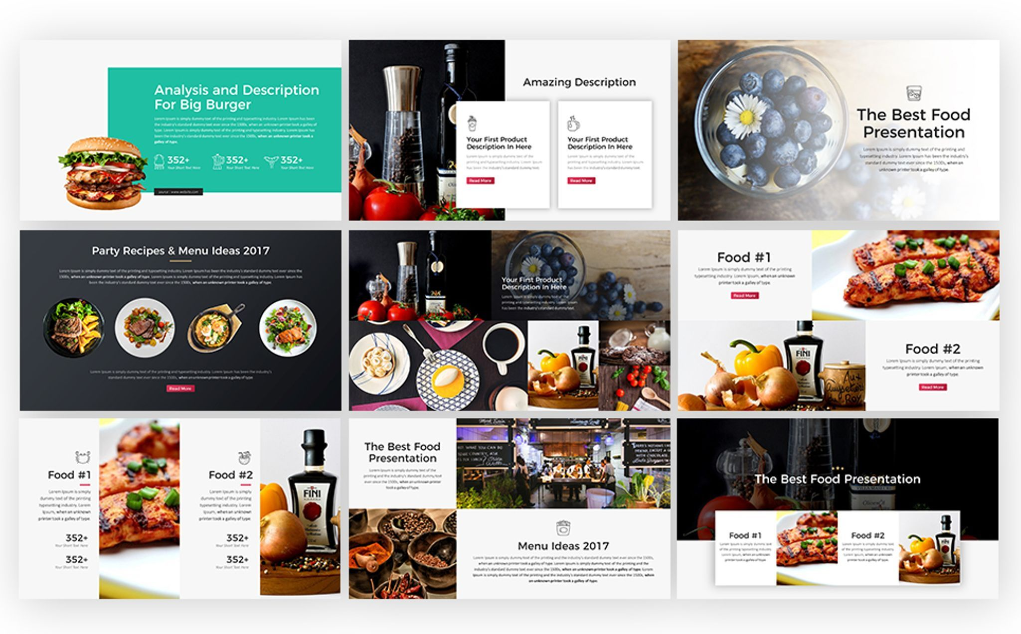 Food Drive Presentation Powerpoint Template 65761 Powerpoint Templates Keynote Template Food Drive