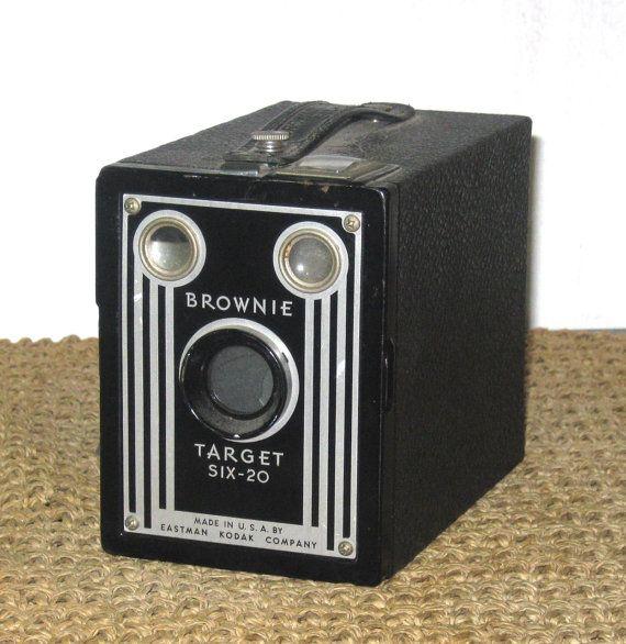 Vintage Brownie Camera 103