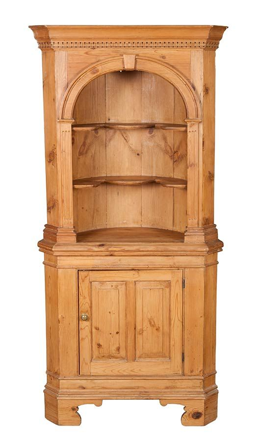 Pine Antique Corner Cabinet - English Classics - Pine Antique Corner Cabinet Antique Corner Cabinet, Pine And Corner