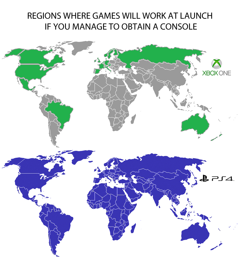ps4 and xb1 list of supported countries on launch day on wall street journal online id=15534