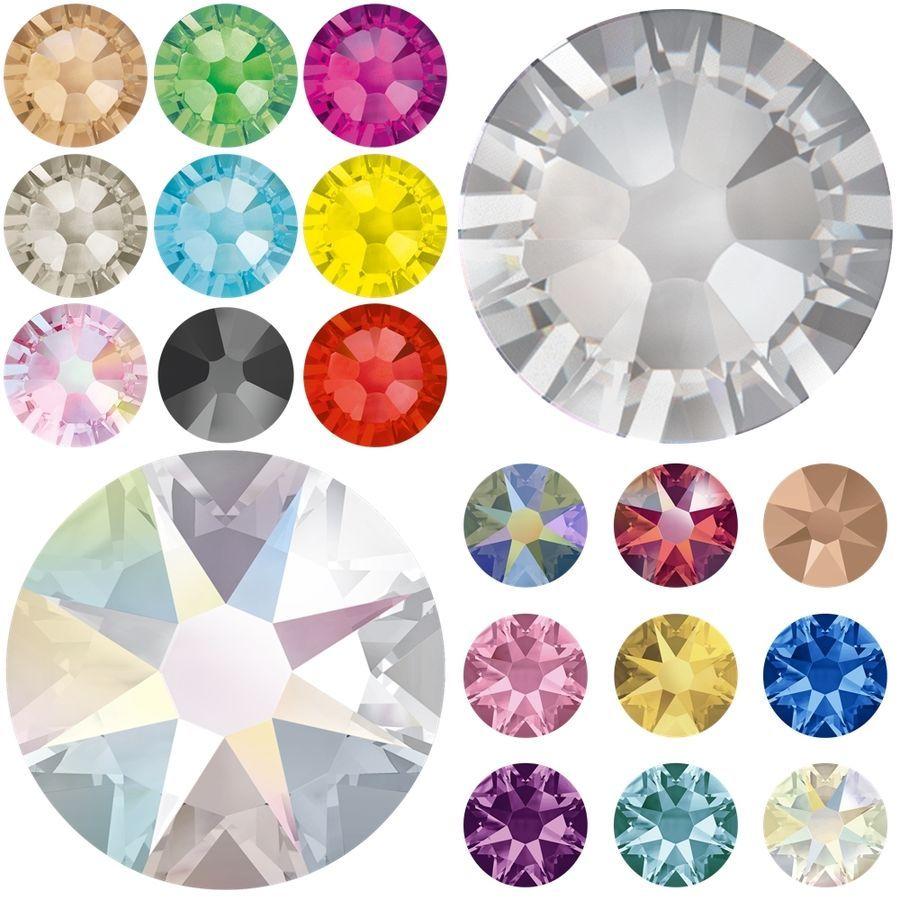 e62958b6d678 1440 Swarovski 2058 2088 Flatback Rhinestones Crystal Wholesale Nail