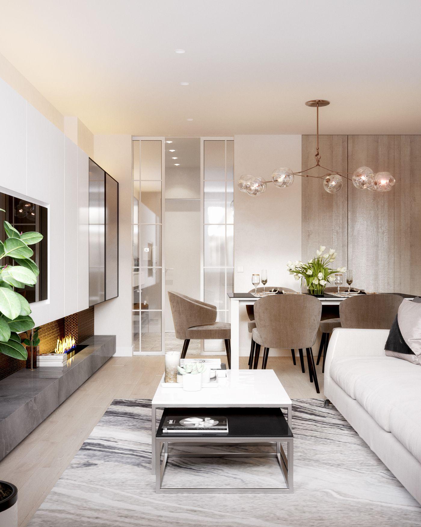 Best Modern Interior On Behance Cheap Living Room Furniture 640 x 480