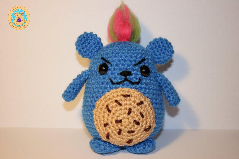 Pucky Monster cookie Mimiu de CrochetinYou en Etsy