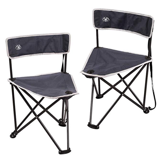 Outdoor Lightweight Aluminium Alloy Folding Stool Compact Fishing Camping Seat