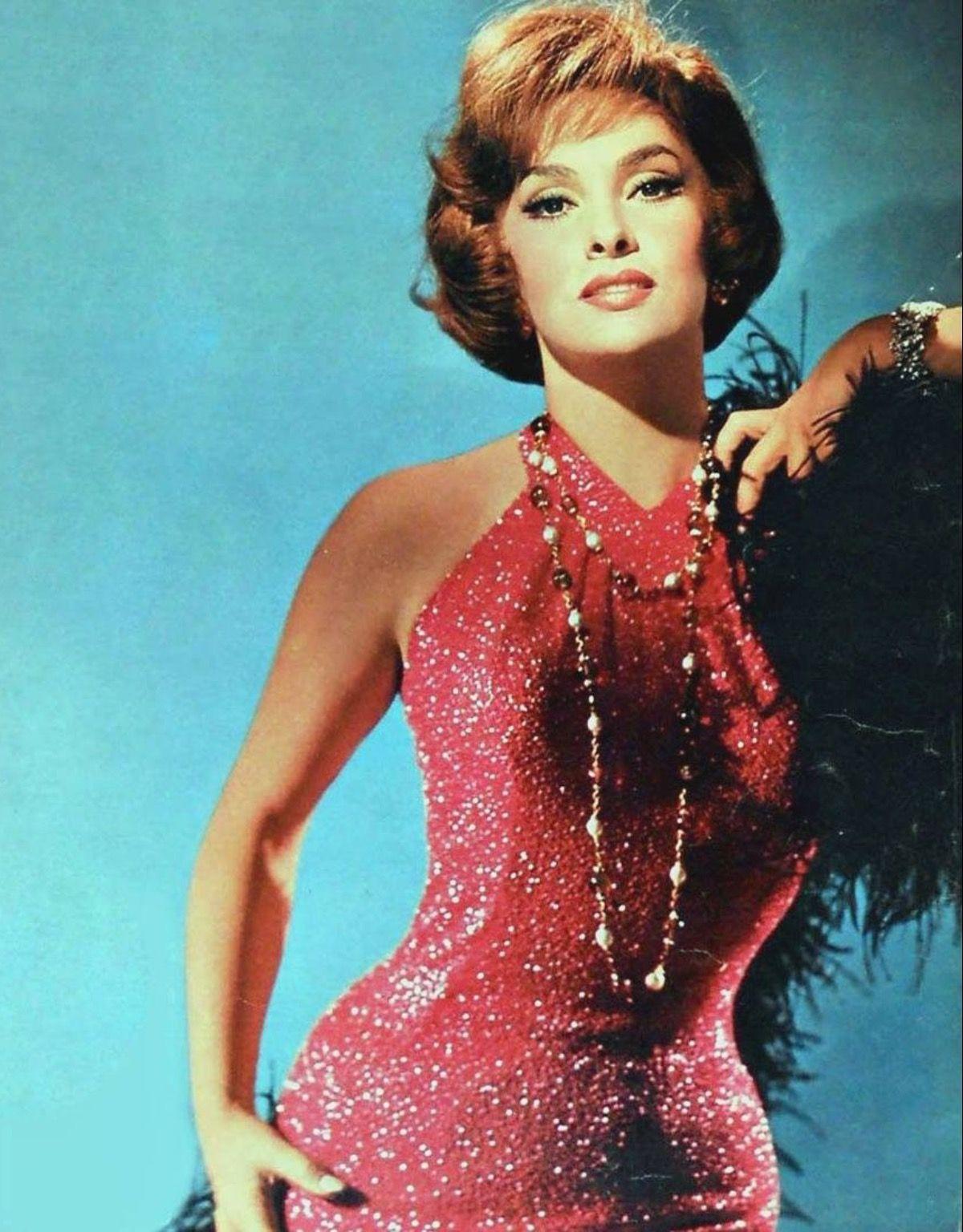 Gina Lollobrigida Beautiful Color Photo Of Her  Gina -1496