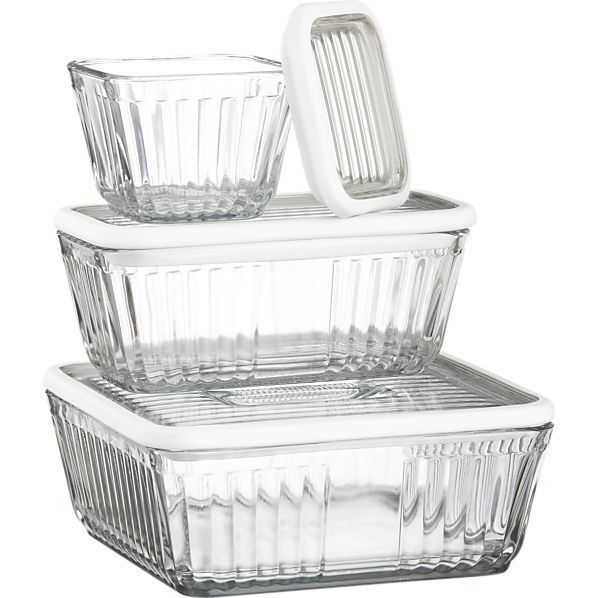 About Us Glass storage containers, Food storage